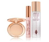 New! Airbrush Skin & Pillow Talk Lashes Kit - Makeup Kit