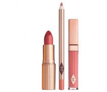 The Ingénue Girl Lip Kit - Lipstick & Lipgloss