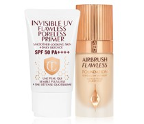 New! Spf50 Airbrush Complexion Duo - Makeup Kit