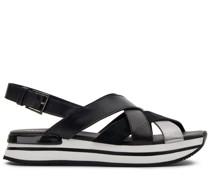Sandalen H222 mit überkreuzten Riemen