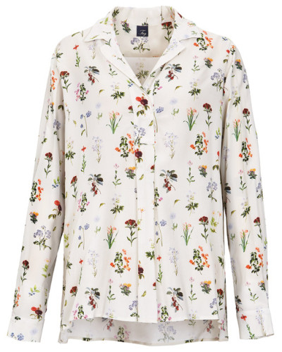 Bluse mit Muster