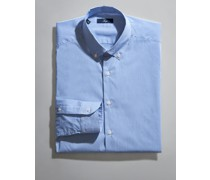Button Down Stretch-Hemd