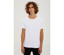 lockeres T-Shirt mit Rundhalsausschnitt