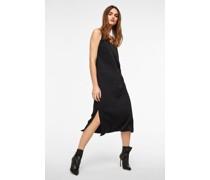 gerades Kleid mit dünnen Trägern