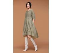 Kleid aus Baumwoll-Seiden-Mix