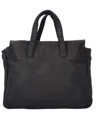 Liebeskind Damen Yao Shopper Tasche Leder 40 cm bittersweet brown
