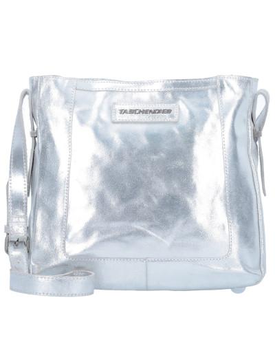 Taschendieb Wien Damen Umhängetasche Leder 30 cm silberfarben Billig Verkauf Auslass Verkauf Truhe Bilder Rabatt Angebot OUrcKt1J2i