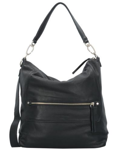Liebeskind Damen Queens Shopper Tasche Leder 34 cm oil black