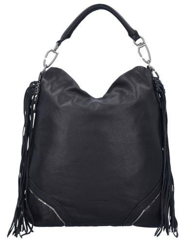 Liebeskind Damen Tokio F7 Schultertasche Leder 38 cm nairobi black