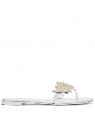 Giuseppe Zanotti Damen Mirrored silver leather 'Cruel' sandal CRUEL Marktfähig Äußerst Günstige Preise Um Zu Verkaufen Günstigster Preis GKsKupQsJ