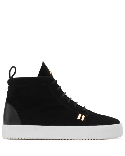 Suede high-top sneaker GORDON HIGH