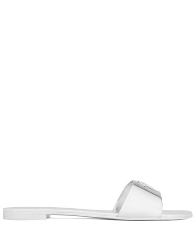 Patent leather sandal with Signature SHIRLEY