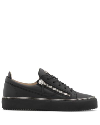 Leather low-top sneaker FRANKIE