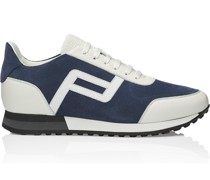 Lace Up Velours Sneaker