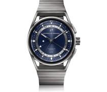 1919 Globetimer UTC All Titanium Blue