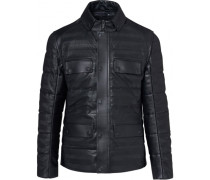 2in1 Leather Hybrid Jacket