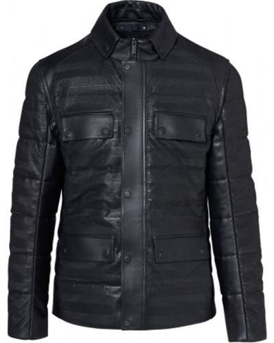 2in1 Leather Hybrid Jacket