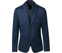 M Hybrid Fitted Blazer
