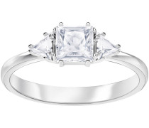 Attract Trilogy Ring, Gr. 55, weiss, ...