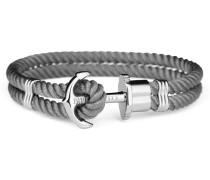 Ankerarmband PHREP IP Silber Nylon ...