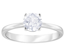 Attract Ring, Gr. 55 , rhodium, weiß,...