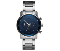 MVMT Herren Uhr Chrono Midnight Silver MC02-SBL...