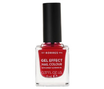 Sweet Almond Gel Effect Nail Colour - 51 Rose Red, 11 ml