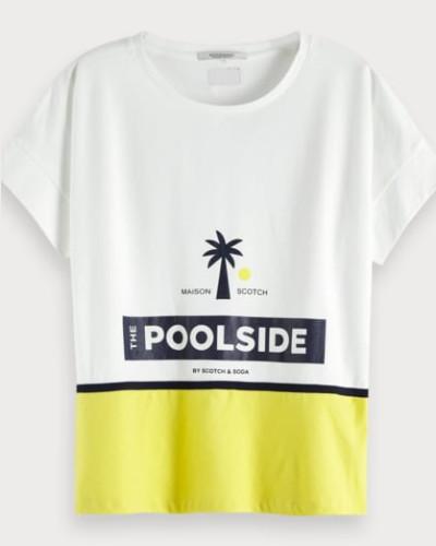 Poolside Artwork-T-Shirt