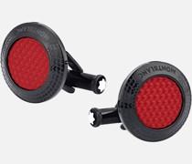 Meisterstück Great Masters Pirelli Steel Red Manschettenknöpfe