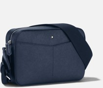 Sartorial Messenger Bag Mit Reißverschluss Oben