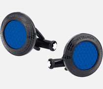 Meisterstück Great Masters Pirelli Steel Blue Manschettenknöpfe