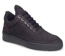 Low Top Ripple Nubuck Perforated