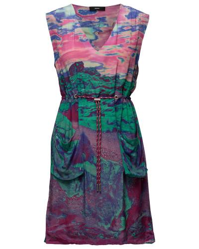 D-Chad-A Dress Kurzes Kleid Bunt/gemustert DIESEL WOMEN