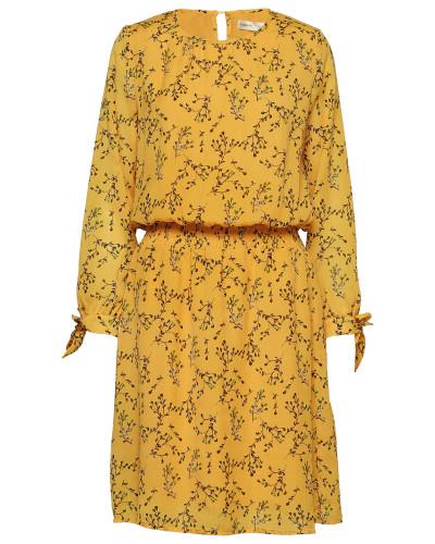 Zandra Dress Kurzes Kleid Gelb INWEAR