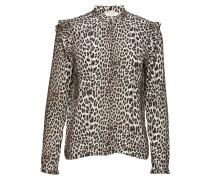 Jenna Bluse mit Leopardenprint