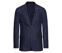 O1. The Linen Herringb Blazer S Blazer Jackett Blau GANT