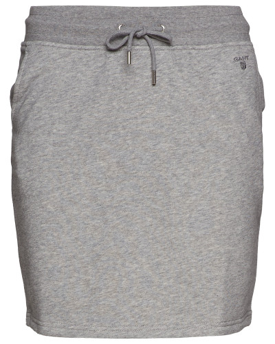 Tonal Shield Sweat Skirt