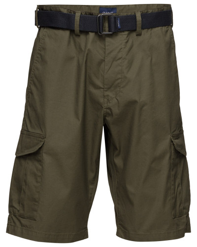 O2.Tp Relaxed Belted Utility Shorts