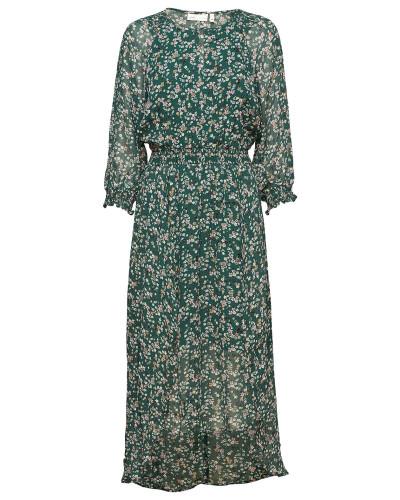 Hayden Dress Kleid Knielang Grün