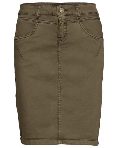 Amalie Skirt - Knee Lgd. Kurzes Kleid Grün CREAM