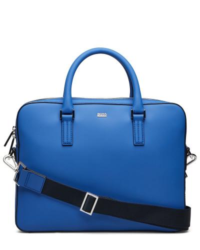 Signature R_slim Doc Laptop-Tasche Tasche Blau BOSS BUSINESS WEAR