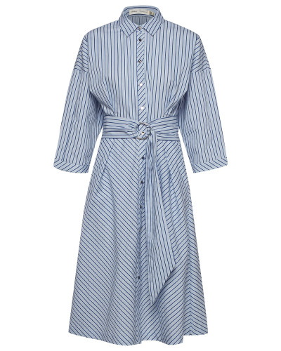 Howard Dress Kleid Knielang Blau INWEAR