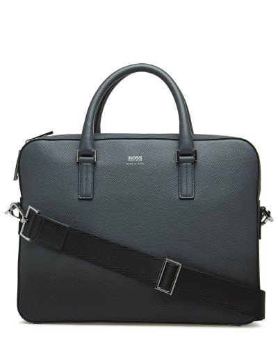 Signature D_slim Doc Schultertasche Tasche Grau BOSS BUSINESS WEAR