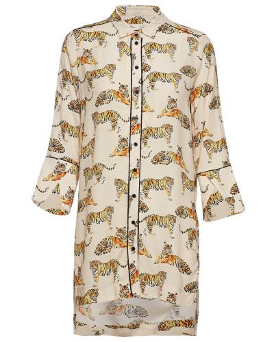 Honora Shirt Bluse Langärmlig Creme INWEAR