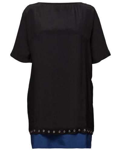 D-Dara Dress Kurzes Kleid Schwarz DIESEL WOMEN
