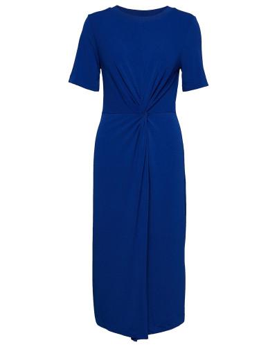 Rabea Dress Kleid Knielang Blau INWEAR