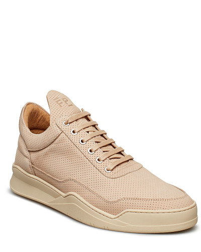 Low Top Ghost Microlane Niedrige Sneaker Beige FILLING PIECES