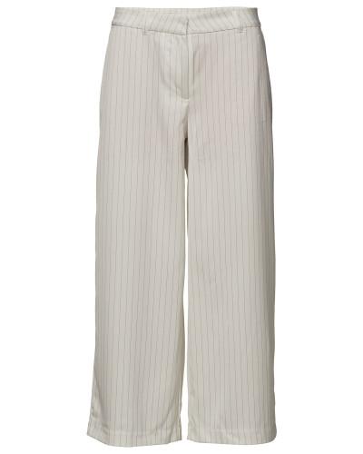 Eloise 807 Crop, Cream Pin, Pants