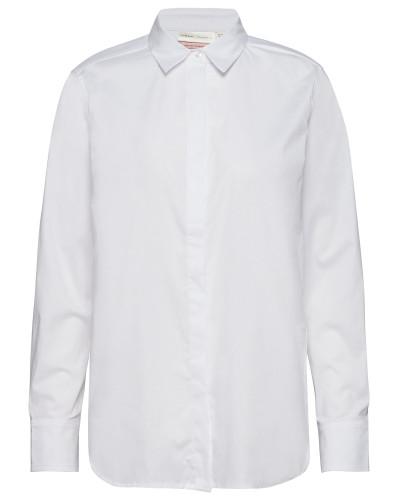 Venus Shirt Langärmliges Hemd Weiß