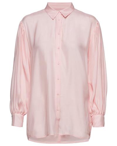 Iw50 04 Hutton Shirt Bluse Langärmlig Pink